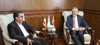 KFZO Head, Spanish Ambassador Discuss Expansion of Tourism, Trade Ties