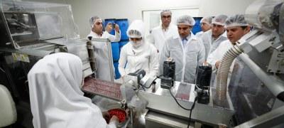 بازدید مدیرعامل سازمان منطقه آزاد کیش از صنایع جزیره باهدف بررسی مشکلات تولیدکنندگان