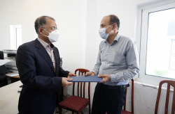 نخستین جمعه های خدمت سازمان و تجلیل از ایثارگر دوران دفاع مقدس در کیش